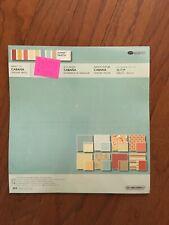 Creative Memories CABANA Designer PRINTS Perfect Fit Paper 16 sheets Unopened