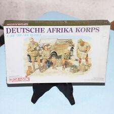 Maquette 1/35 39-45 series Dragon vintage Deutsche Afrika Korps sous blister