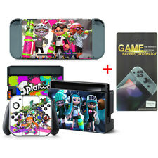 Splatoon Vinyl Decal Skin Stickers for Nintendo Switch wtih Screen Protector