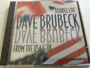 Dave Brubeck - Double Live from the U.S.A. and U.K. (CD, 2001, 2 Discs, Telarc)