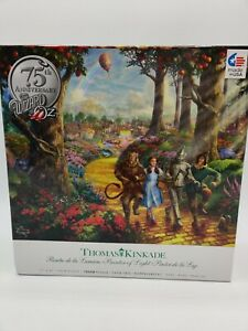 Thomas Kinkade 75th Anniversary THE WIZARD OF OZ 1000 Piece Puzzle COMPLETE