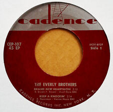 EVERLY BROS. - HEY DOLL BABY + 3 - CADENCE 107 -  EXTENDED PLAY
