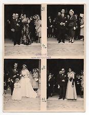 PHOTO DE MARIAGE - Épreuve non retouchée - Photographie - Vers 1950 Groupe