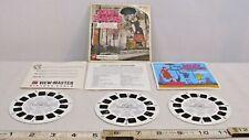 Walt Disney Mary Poppins Gaf View Master Set Complete 1960s
