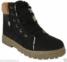 Synthetic Leather Patternless Regular Boots for Women