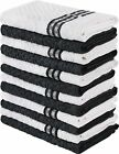 12 Kitchen Hand Towels 15x25  100% Cotton Super Soft Dish Towels Utopia Towels
