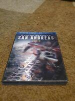 "San Andreas (2D & 3D Blu-ray no digital code, 2015) (Dwayne ""The Rock"" Johnson)"