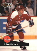 1991-92 Pro Set Hockey #s 251-500 +Rookies - You Pick - Buy 10+ cards FREE SHIP