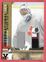 2015-16 Patrick Roy ITG Final Vault 2006-07 International Ice Jersey Stick 1/1