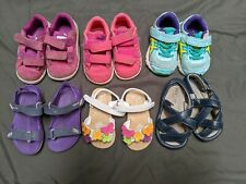 Lot of size 4 Girl shoes. 6 pcs.