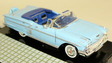 Motormax 1/24 Scale - 73200ac 1958 Chevy Impala Light Blue Diecast model car