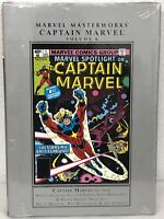 Captain Marvel Marvel Masterworks Volume 6 Jim Starlin HC Hardcover New Sealed