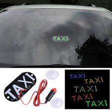 Auto 45 LED Cab Taxi Taxischild Dachzeichen Licht Taxileuchte Lampe Stecker Neu