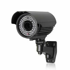 Sony IMX 2MP 2.8-12mm 1080P ONVIF P2P 72 LED 60M Proiettile POE Audio IP Camera CCTV