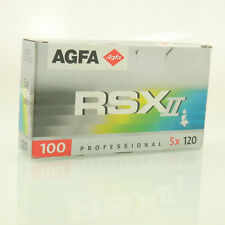 Agfa RSX 100 II Dia Film E6  5er Pack 120  Rollfilm Mittelformat
