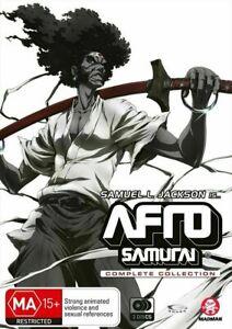 AFRO SAMURAI COMPLETE COLLECTION (DVD, 3-DISC) NEW - SAMUEL L JACKSON REGION 4