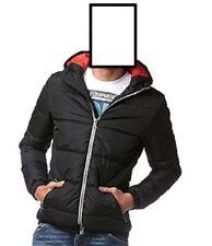 John Devin neue Herren Winter Jacke mit Reißverschluss Farbe schwarz Größe XXL