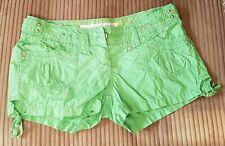 Riverisland Ladies Green Shorts - Size 10