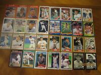 31 Boston Red Sox Baseball Card Collection (Lot 1)