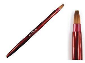 KOYUDO/KIHITSU KUMANO Fude Portable Retractable Klinsky Lip Brush Red 14-4 JAPAN