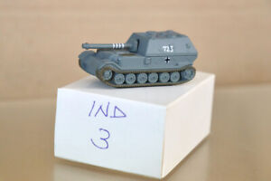 WARGAMES 6mm SCALE GTI1988 WWII GERMAN TANK 723 nz