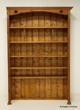 """Massive Tall Pine Bookcase 7ft 6"""" High, Width 157cm (62"""") FREE UK Delivery*"""