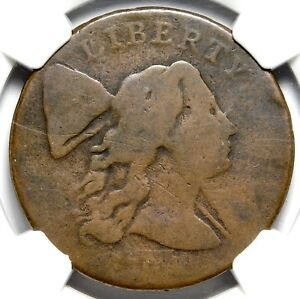 R4+ S23 NGC AG3 1794 LARGE CENT