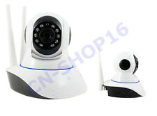 TELECAMERA IP CAMERA WIFI HD 720P WIRELESS LED IR LAN MOTORIZZATA ANDROID IOS SD