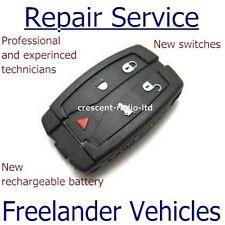 Land Rover Freelander 2 Remoto Clave Fob Reparación/SERVICIO DE REPARACIÓN FIX