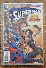 Superman #10 New 52 2012 DC Comics