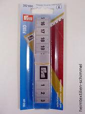 PRYM Maßband selbstklebend 150cm Bandmaß Metermaß Fixo 282690