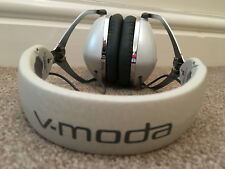 V-MODA Crossfade M-100 Over-Ear Noise-Isolating Metal headphones - White Silver