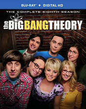 THE BIG BANG THEORY: THE COMPLETE EIGHTH SEASON (2015) BLU-RAY