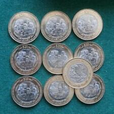 1917-2017 Mexican 10 coins $20 100 th Anniv Consitution Bimetallic BU