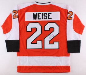 Dale Weise Signed Flyers Jersey (Beckett COA) Playing career 2008–present