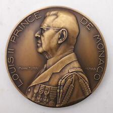 Médaille en bronze Louis II Prince de Monaco (1944)