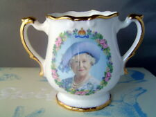 Great Britain Queen Mother Elizabeth 100th Birthday Commemorative Vase 2000