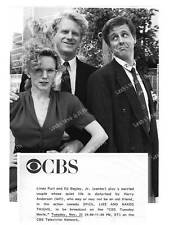 LINDA PURL, ED BEGLEY JR, HARRY ANDERSON Original TV Photo SPIES, LIES AND NAKED