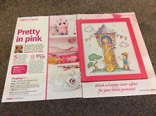 Fairytale Rapunzel pattern cross stitch chart only /187