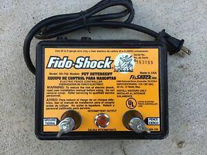 Fido-Shock SS-750 Electric Fence Controller Energizer Pet Containment New