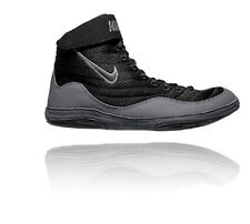 New Nike Inflict 3 Wrestling Shoes 325256 003 Black size 13