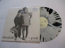 POOH - ALESSANDRA  - LP SPLATTER VINYL WHITE LABEL - IMPERFECTIONS ON 1 SONG