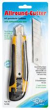 Allround Cutter Klinge: 18 mm schwarz/gelb Profi Qualität Cuttermesser Mengenrab