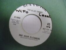 Blue Things One Hour Cleaners/Orange Rooftop OF 45 RPM RCA Victor Records VG+