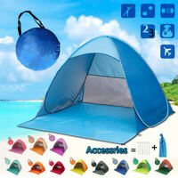 Portable Popup Beach Tent Sun Shade  Shelter Travel Camping Fishing Canopy^,