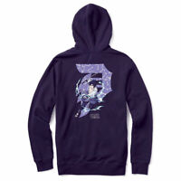 Primitive Skate x Dragon Ball Z Mens Nuevo Piccolo Pullover Long Sleeve Hoodie Purple