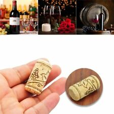 High Quality 5/15pcs Conical Natural Cork Bottle Stoppers Wine Corks Crafts