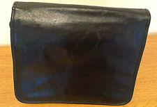Genuine JOST Cross Body Shoulder Messenger Black  Bag