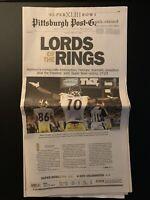 Pittsburgh Steelers Super Bowl XLIII Edition Post-Gazette Newspaper