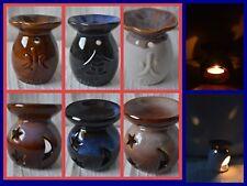 Oil Burner with shadow effect wax melt tea light candle holder tealight elements